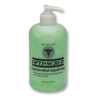 Opti-Scrub Liquid Antimicrobial Skin Cleanser - 18oz bottle. Ready to use, highly effective