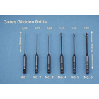 Miltex #1 Gates Glidden drill, 32 mm, package of 6 instruments