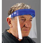 Palmero Full Face Shields. Disposable, lightweight face shields offer