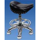 Palmero Saddle Stool Saddle Stool - Pneumatic adjustable height , 360 degree Swivel, Heavy-duty