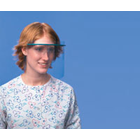 Googles Faceshield Office Pack: 3 Frames, 3 Nosepieces and 15 Clear Full Faceshields. **This