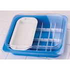Plasdent Operation Tub Set - NEON BLUE 10 3/4