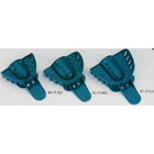 Excellent #3 Medium Upper Arch - Perforated, Teal Plastic Impression Trays, Package of 12