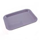Plasdent Flat Tray, Size F (Mini) - Lilac, Plastic, 9-5/8