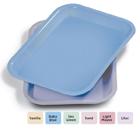 Plasdent Flat Tray, Size F (Mini) - Pastel Baby Blue, Plastic, 9-5/8