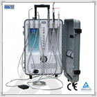 Dependable Portable Dental Unit with Light Cure & Scaler unit with hard casing, Power: 550W