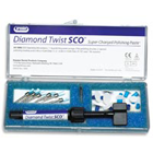 Diamond Twist SCO Polishing Paste Kit for Intraoral Polishing of Indirect Porcelain Restorations