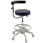 Premium Plus Assistant Stool, Ultra stable base, Adjustable height, Single stool. Available