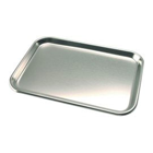 House Brand Stainless Steel Procedure Tray, Size B 9-3/4