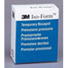 Iso-Form #L-55 Lower Left 2nd Bicuspid Tin-Silver Alloy Temporary Crowns, Box of 5