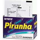 Piranha Diamonds FG #801.018 Coarse Grit, Round Shaped, Single Use Diamond Bur. Package of 25 Burs