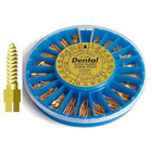Super-Dent Gold Plated Screw Post Kit, Assortment: 240 assorted size Screw Posts, 1 Hollow Key, 1