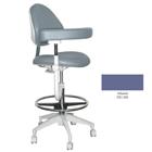 Mirage Assistant's Stool - Atlantis Color. Featuring Abdominal Support, Vertical Adjustment Range