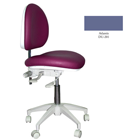 Mirage Doctor's Stool - Atlantis Color. Dimensions: Backrest Vertical Adjustment Range: 0