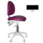 Mirage Doctor's Stool - Black Color. Dimensions: Backrest Vertical Adjustment Range: 0