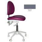 Mirage Doctor's Stool - Greystone Color. Dimensions: Backrest Vertical Adjustment Range: 0