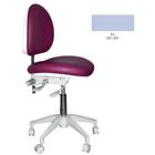 Mirage Doctor's Stool - Ice Color. Dimensions: Backrest Vertical Adjustment Range: 0