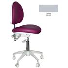 Mirage Doctor's Stool - Stormy Color. Dimensions: Backrest Vertical Adjustment Range: 0