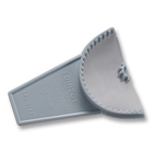 Tri-Bite Bite Tray - Anterior 10/Pk. Sturdy composite plastic design prevents distortion. Low