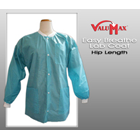 Easy-Breathe Jackets - Teal, X-Large 10/Pk. Light-Weight, Made of 3-Layer SMS fabrics, Breathable
