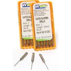 Webco #5 Gates Glidden Drill, 28 mm, Stainless Steel, Swiss Made, Recommended Rotation Speed