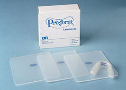 "Proform Nightguard Vacuum Forming Material 5""x5"". Laminate or Layered Soft/Soft Material, 5""x5"""