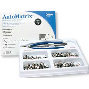 AutoMatrix Narrow-Regular Refill - Retainerless Stainless Steel Matrix Bands, Box of 72. #663002