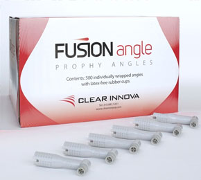 Fusion Disposable Prophy Angle with Soft Cup 500/Bx. Gray, Latex-Free, Individually Wrapped