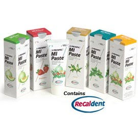 MI Paste Mint 10/Pk. Topical Tooth Cream with Calcium & Phosphate. 10 Tubes (40 Gm. Each)