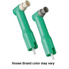 House Brand Disposable Prophy Angle with Soft Webbed Cup 500/Bx. Latex Free