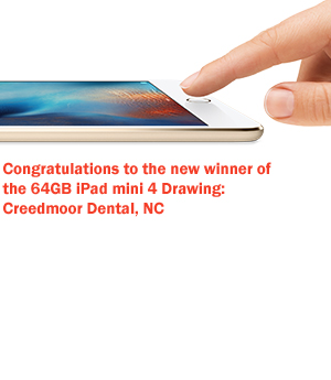Every order you place over $750 automatically enters you to win a new 64GB Apple iPad mini 4