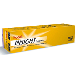 Insight #2 Kodak IP-21 Film - Periapical X-Ray film in a 1-Film Super Poly-Soft packet, Box of 150