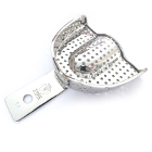 TOL Extra Large, Upper arch, Perforated stainless steel impression tray