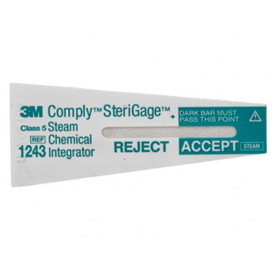 Comply SteriGage Steam Chemical Integrator, 500/P
