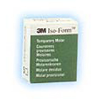 Iso-Form Assorted Molar Tin-Silver Alloy Temporary Crowns, Complete Kit of 64 Crowns