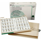 Iso-Form Assorted Molar Tin-Silver Alloy Temporary Crowns, Kit of 64: 2 crowns