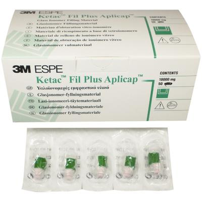 Ketac-Fil Plus Aplicap Assorted Refill - Glass Ionomer Restorative, Radiopaque