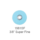 "Sof-Lex F&P Discs - Superfine 3/8"", Pop-On, Urethane Coated Paper, Light Blue"