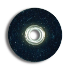 "Sof-Lex F&P Discs - Coarse 1/2"", Pop-On, Urethane Coated Paper, Black. Package"