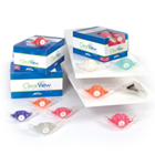 ClearView Single-Use Nasal Hoods - Pedo, Birthday Bubblegum 12/Box. Individually Wrapped. Clear