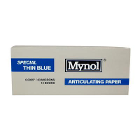 "Mynol Articulating Papers - Special Thin Blue .0025""/63 Microns Impregnated"