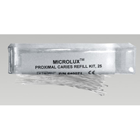 Microlux Caries Fiber Refills, pack of 25 disposable fibers only. For use