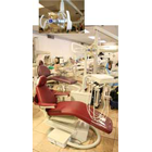 Adec 1005 Refurbished Patient Chair in Mulberry upholstery with NEW DCI Pro31