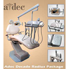 Adec Decade Refurbished Radius Package, 3 HP Delivery, Adec Vacuum group HVE