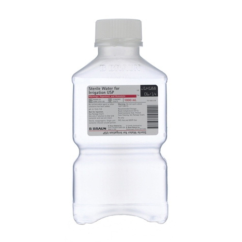 B. Braun Sterile Water for Irrigation, 1000 mL Pl