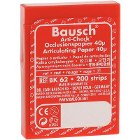 "Bausch Arti-Check Micro-Thin .0016"" (40 microns) RED Articulating Paper, 200"
