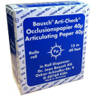 "Bausch Arti-Check Micro-Thin .0016"" (40 microns) BLUE Articulating Paper, 16 mm"