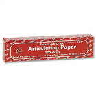 "Bausch Arti-Check Micro-Thin .0016"" (40 microns) RED Articulating Paper Strips"