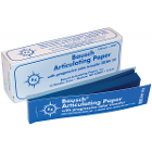 "Bausch .008"" (200 microns) BLUE Articulating Paper Strips, Box with 300 Strips"