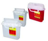 BD Sharps Collector 5.4 qt Sharps Container PEARL